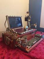 Steampunk computer  by ovdiem