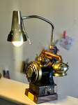 Meat grinder telephone lamp by ovdiem