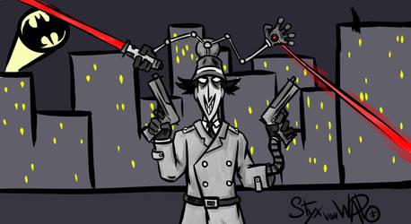Evil Inspector Gadget by StyxVonWapo