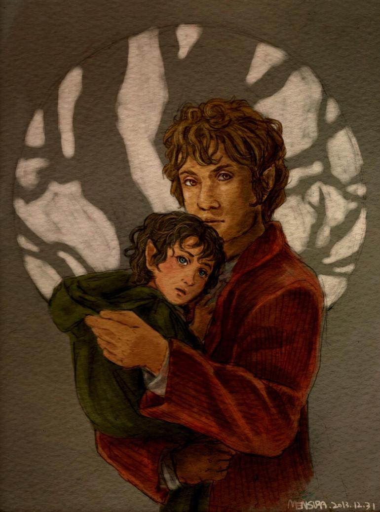 frodo and bilbo relationship help