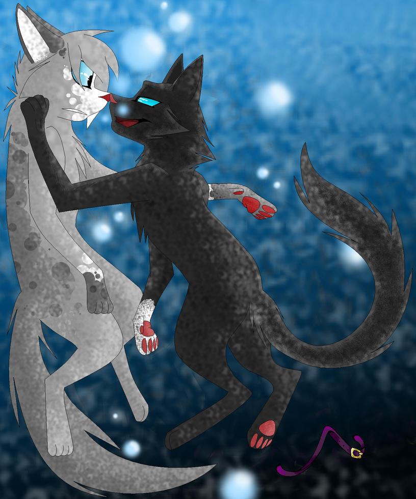 картинки кровоцапка коты воители