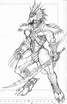 Dragon sword fighter