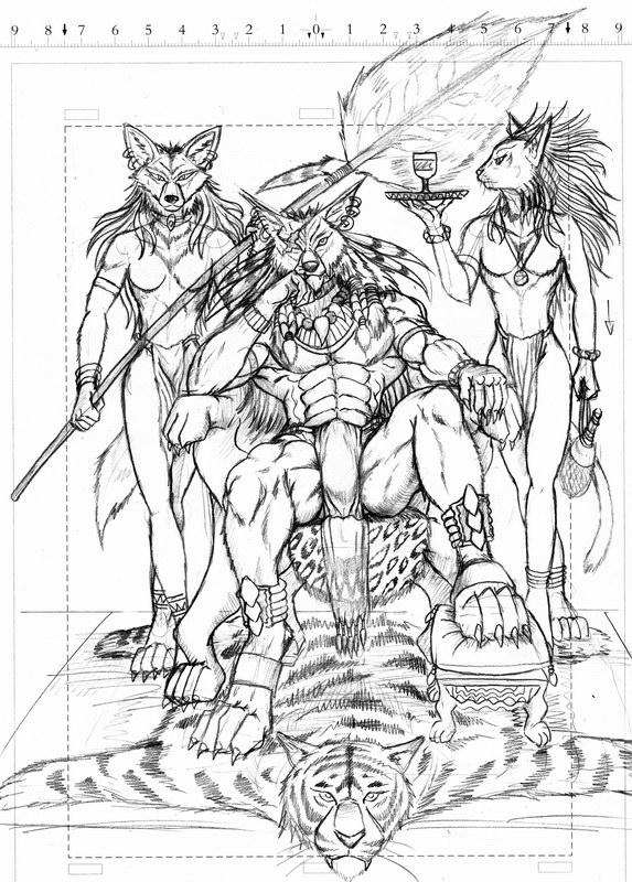 Werewolf aristocrat by WolfLSI