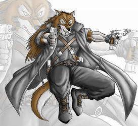 Werewolf gunner by WolfLSI
