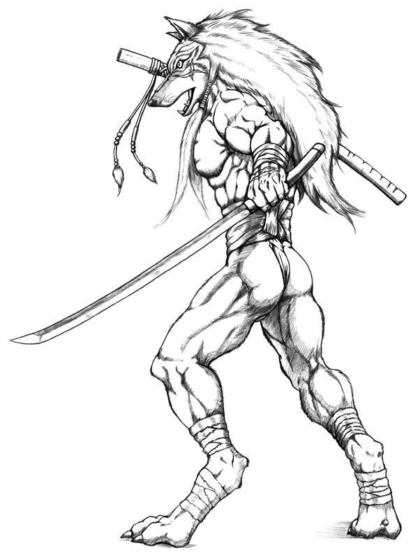 Samurai by WolfLSI