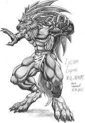 Lycan Lupus by WolfLSI