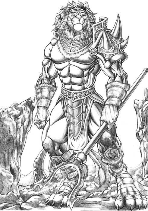 Ficha de Caradryan Anthro_Tournament_by_WolfLSI