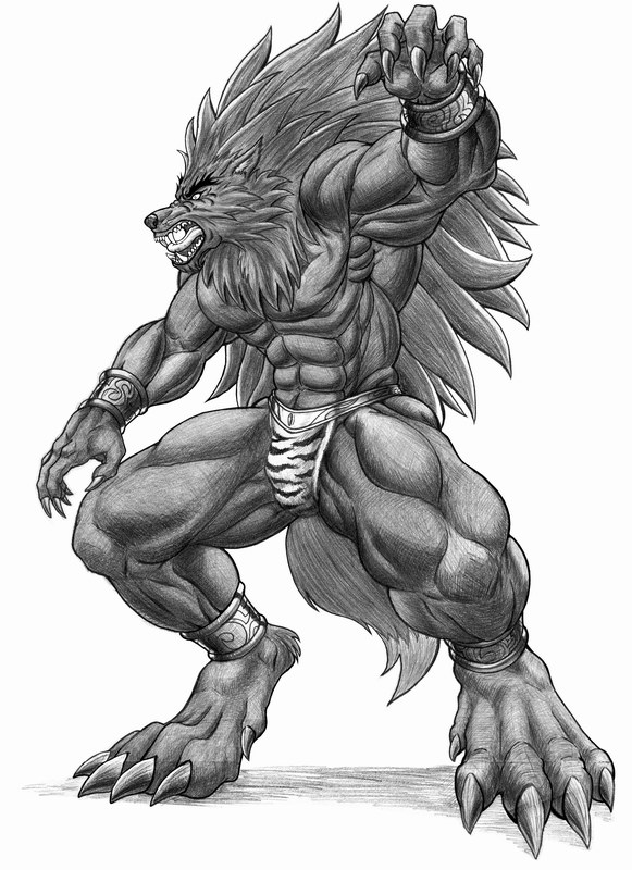 Lycan Lupus Revolution by WolfLSI
