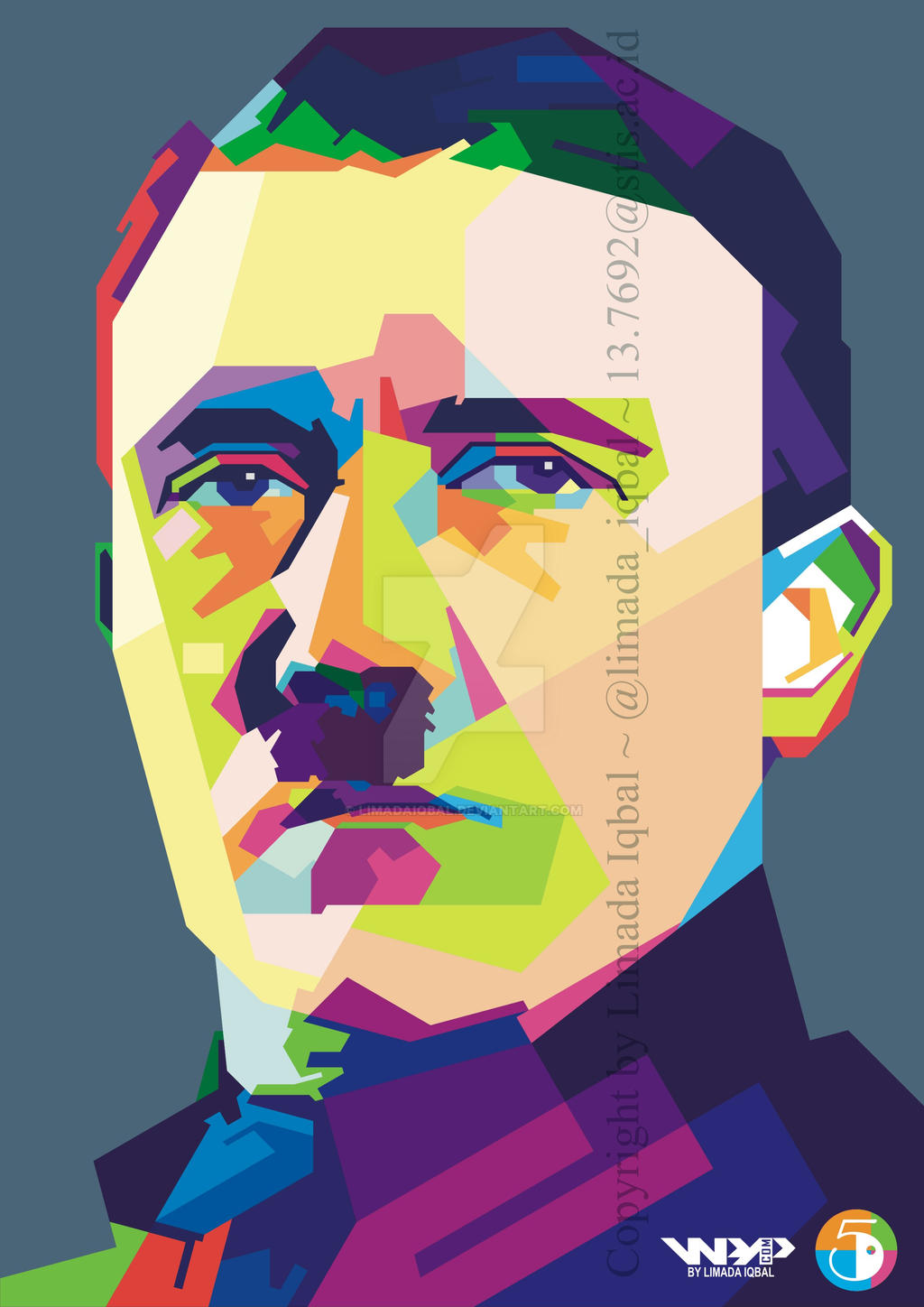 Wpap vector portrait celebrity