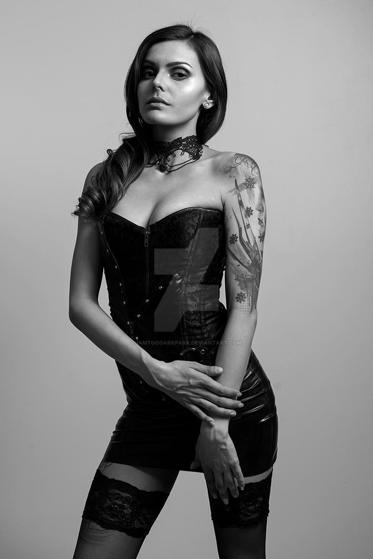 Yana in Black by IAMTOODARKPARK