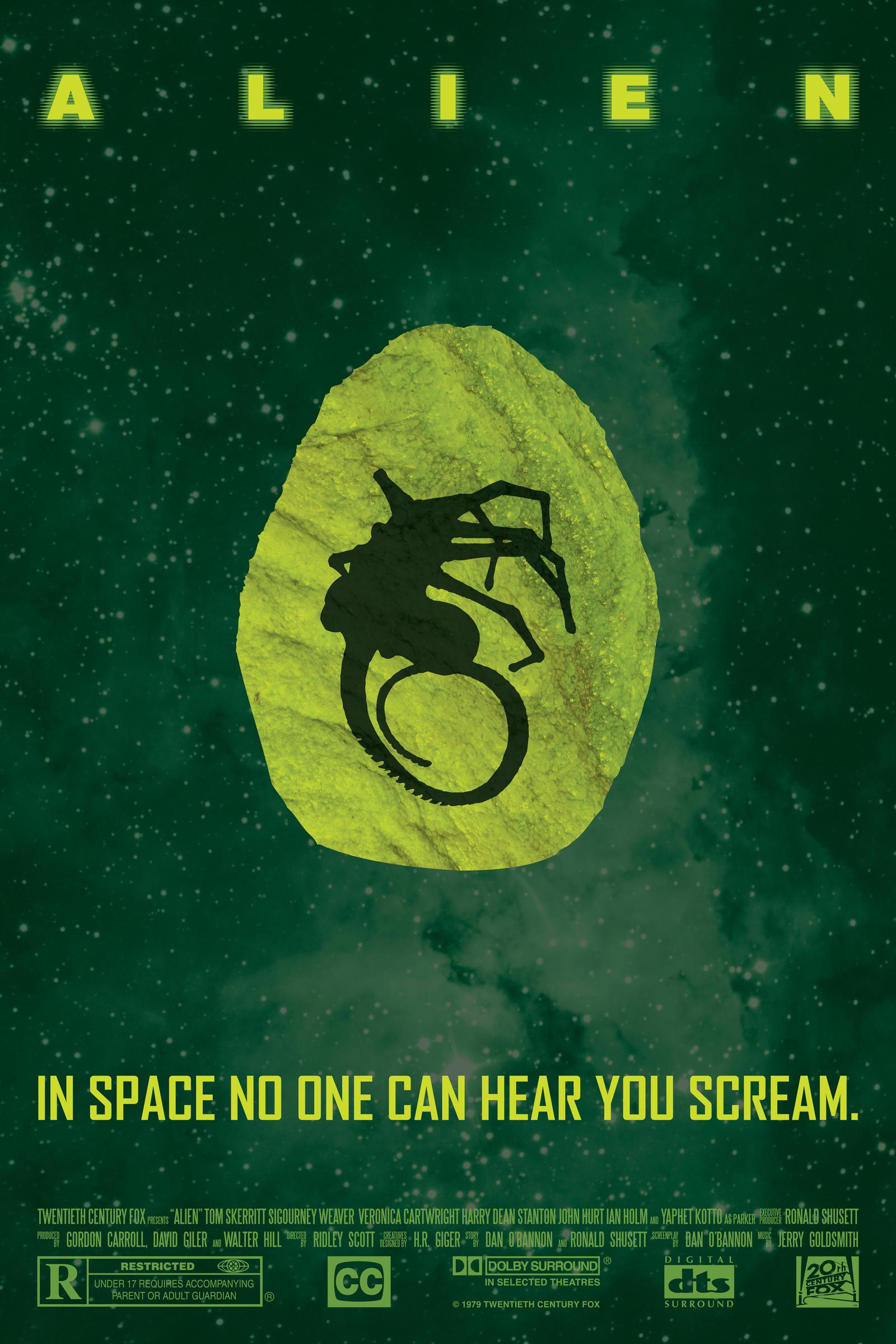 Alien Poster by halo-zero