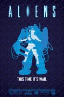 Aliens Poster by halo-zero