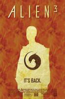 Alien3 Poster by halo-zero