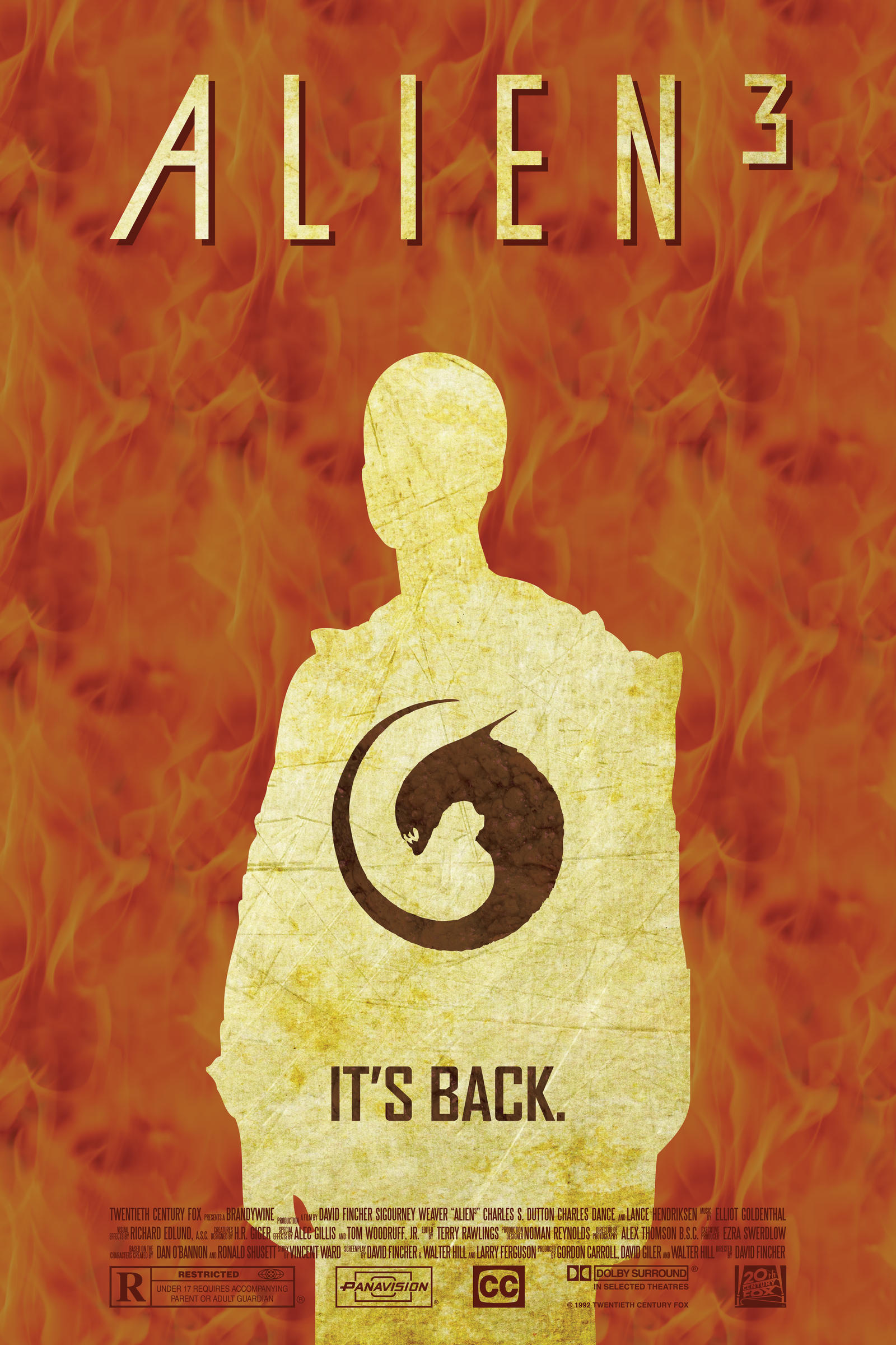 alien 3 poster - photo #10