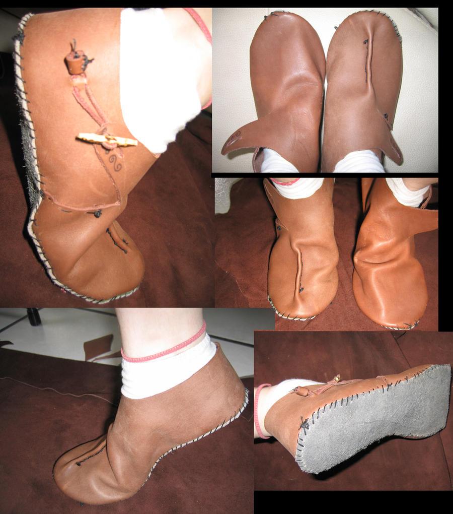 f2b8f93f6 Patrones de zapatos y Sporran Medieval shoes by Animefeiry2