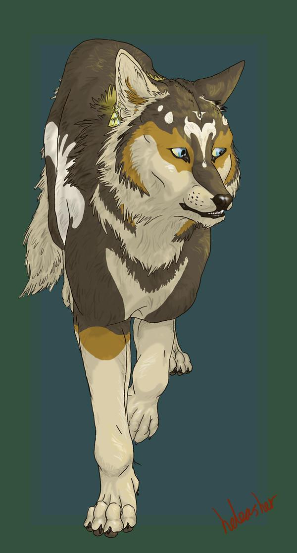 Wolf Zelda by ElementalSpirits on DeviantArt
