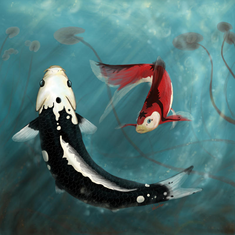 Dance of the kumonryu by elementalspirits on deviantart for Kumak s fish