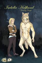 Isabella Halfhund by ElementalSpirits
