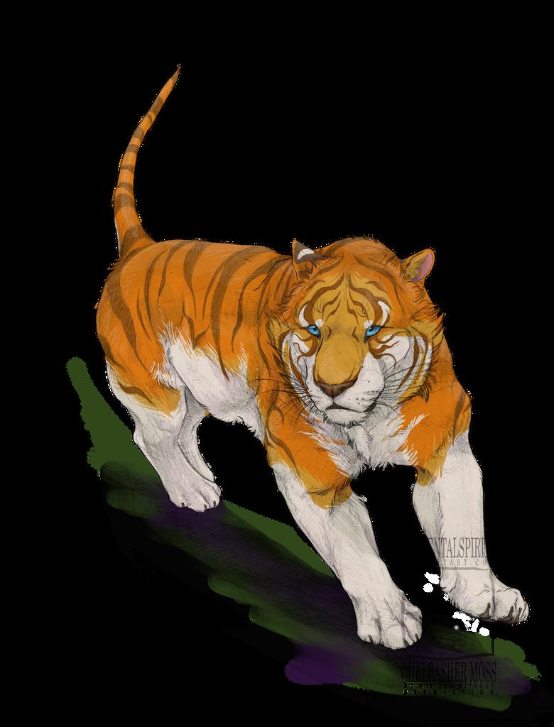 Tabby Tiger by ElementalSpirits