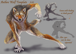 Anthro Wolf Template