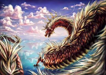 Dragon Migration by ElementalSpirits