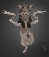 Hang In There Corgi by ElementalSpirits