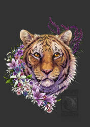 Tiger Flower by ElementalSpirits