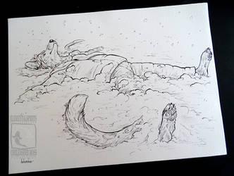 Let It Snow -Kofi Ink by ElementalSpirits