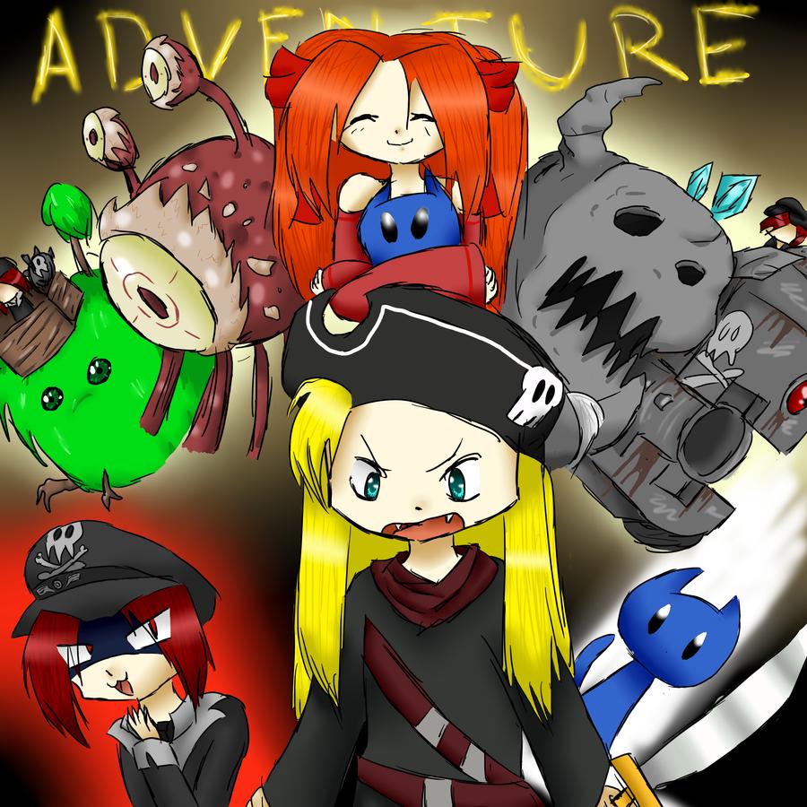 adventure story by kittimitti