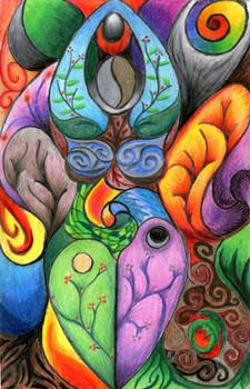 Abstract Goddess