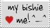 Bishie love stamp by Morbia