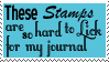 Stupid stamps by Morbia