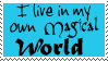 My magical world stamp by Morbia