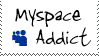 myspace addict stamp by Morbia