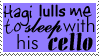 Calming music stamp by Morbia