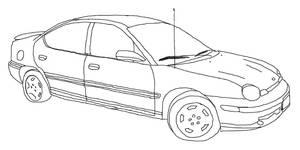 Line Art: bf's car