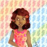 Flowery Girl by CarolMP