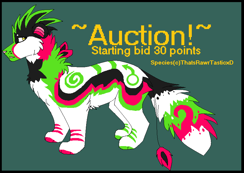 Queen Wuzzle Auction II [closed] by opadopts