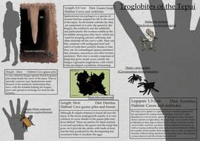 Tepui's Troglobites (Lost World Spec Challenge)