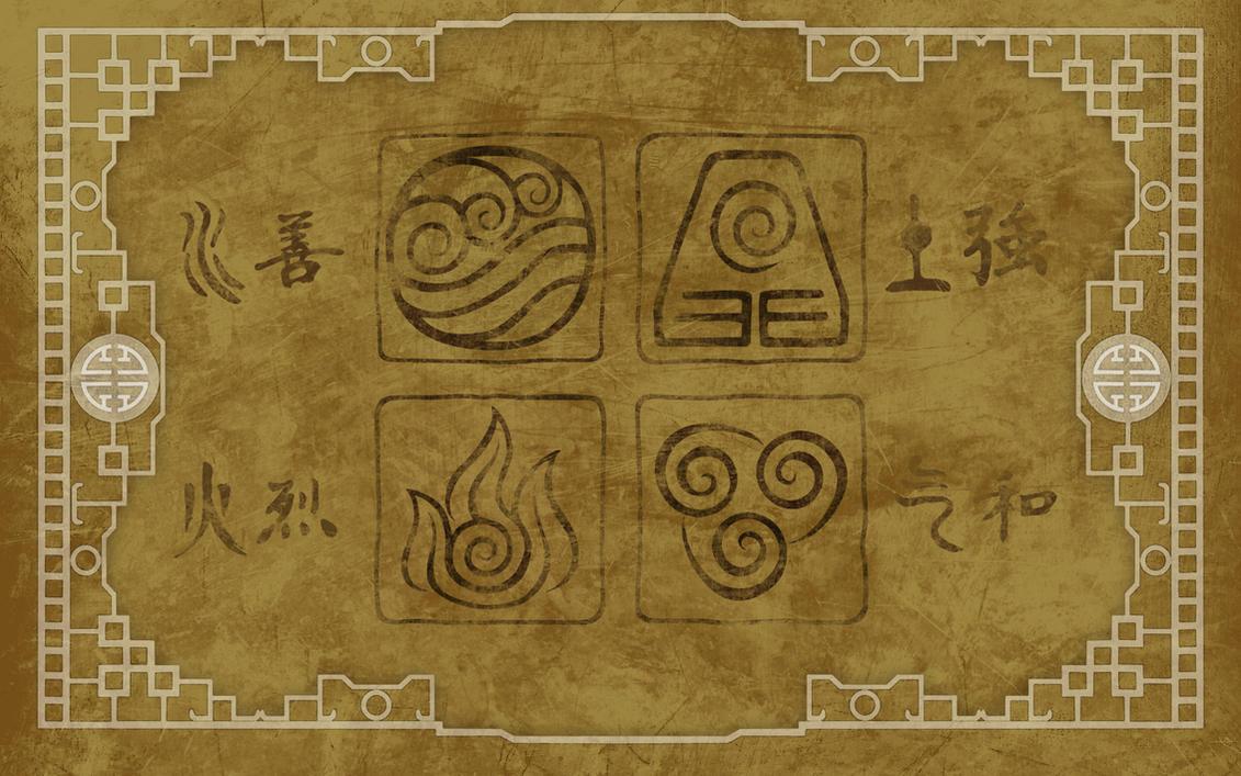 Avatar Elements Wallpaper By Pixilpadaloxicopolis On Deviantart