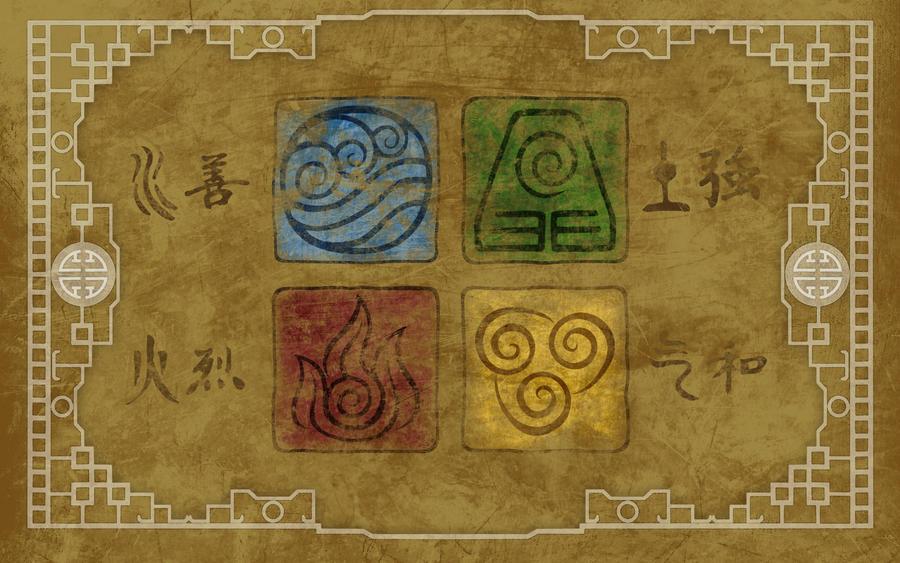8 Art Elements : Avatar elements wallpaper with color by pixilpadaloxicopolis on