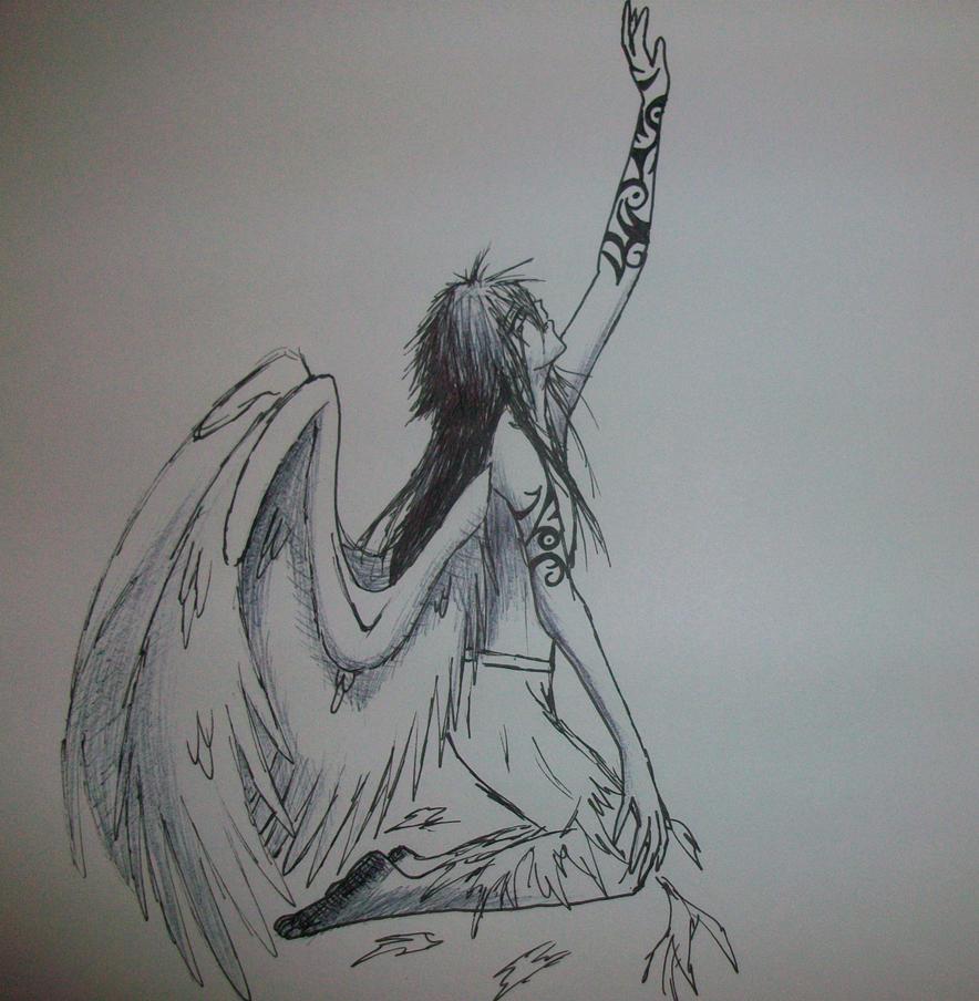 Fallen Angel Cursed Markings By Zalia13 On DeviantART
