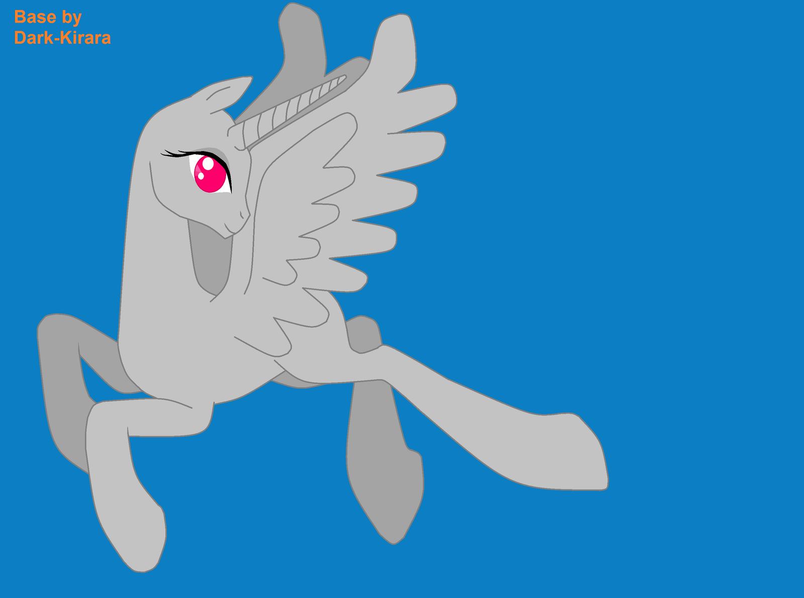 Flying Alicorn Female Base By Zalia13 On DeviantArt