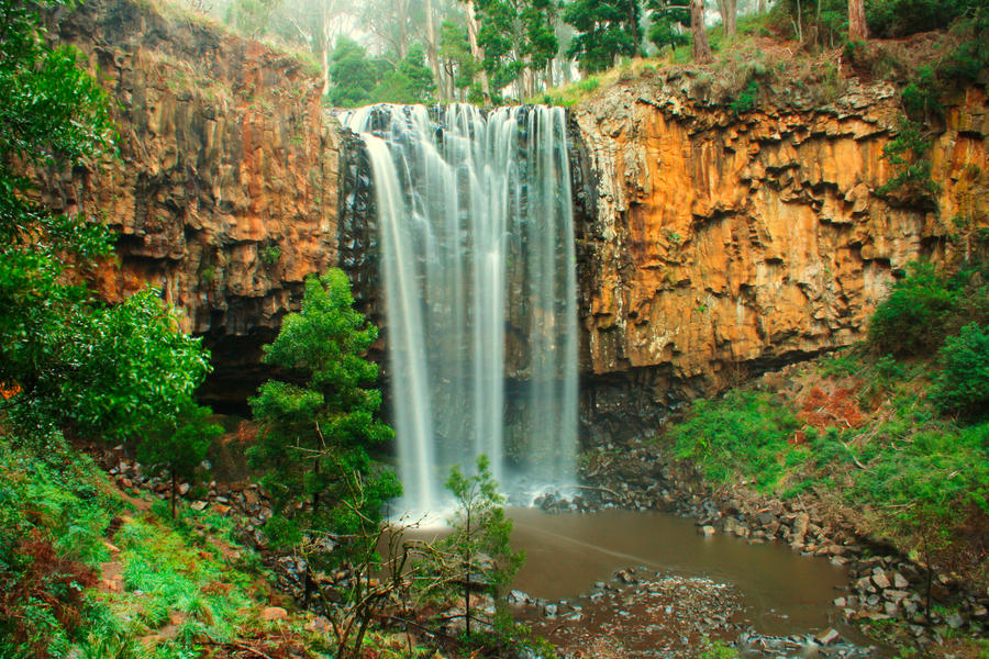 Trentham Falls 02 by Braunaudio