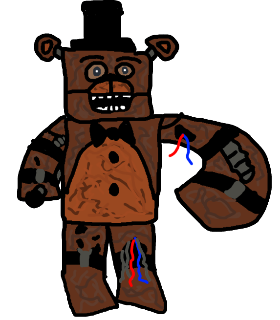 Withered Freddy V4 By A1234agamer On Deviantart - Www imagez co