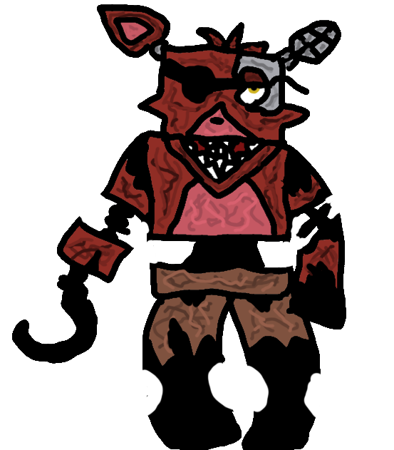 FiveWall5's Withered Foxy by FiveWalls5 on DeviantArt