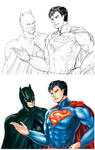 DCnU : Batman and Superman