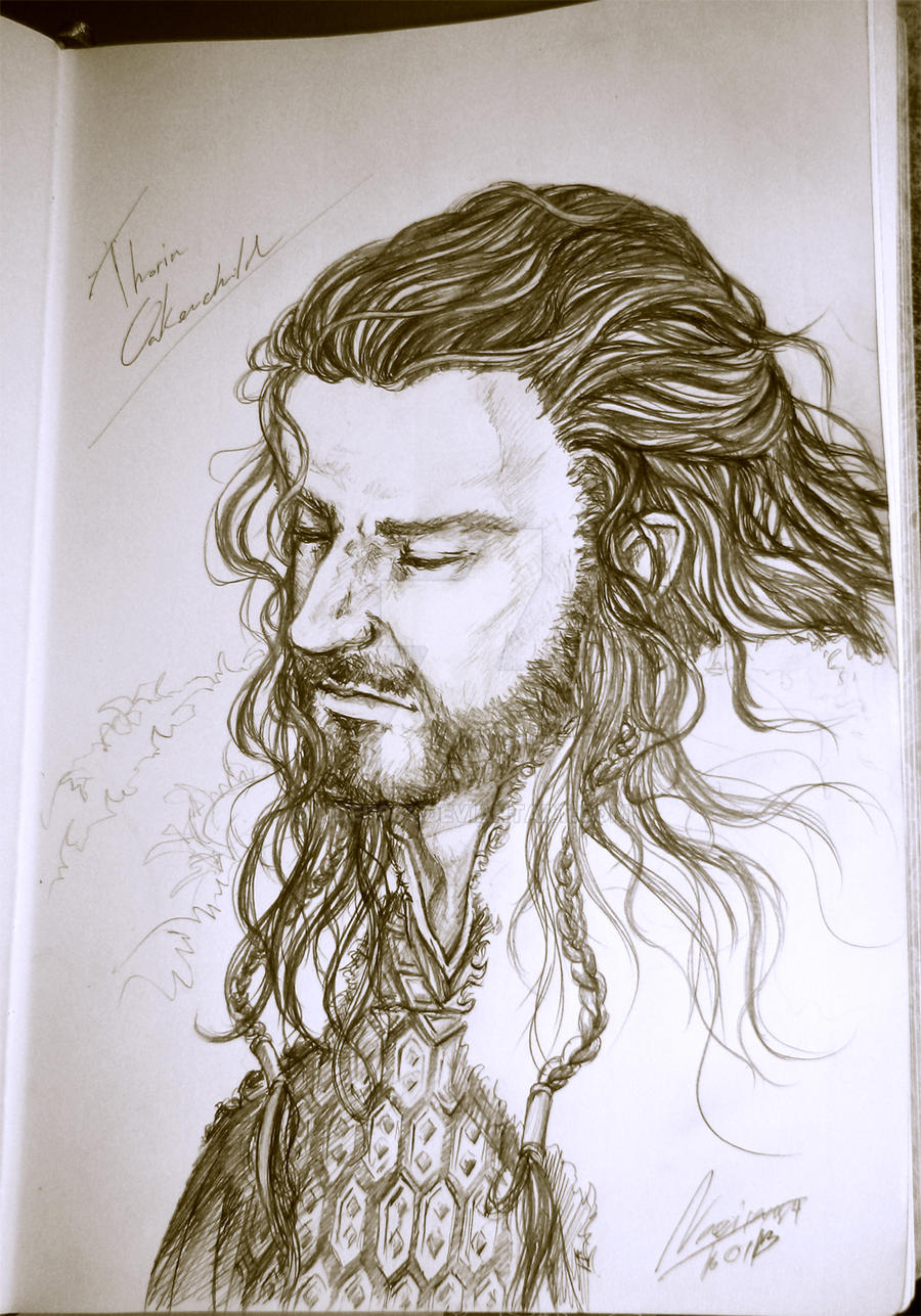 [TH] Thorin Oakenshield by noei1984