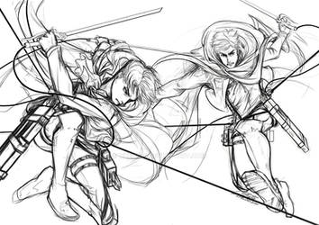 [AoT] ... TO DEFEAT THE MONSTER ... sketch