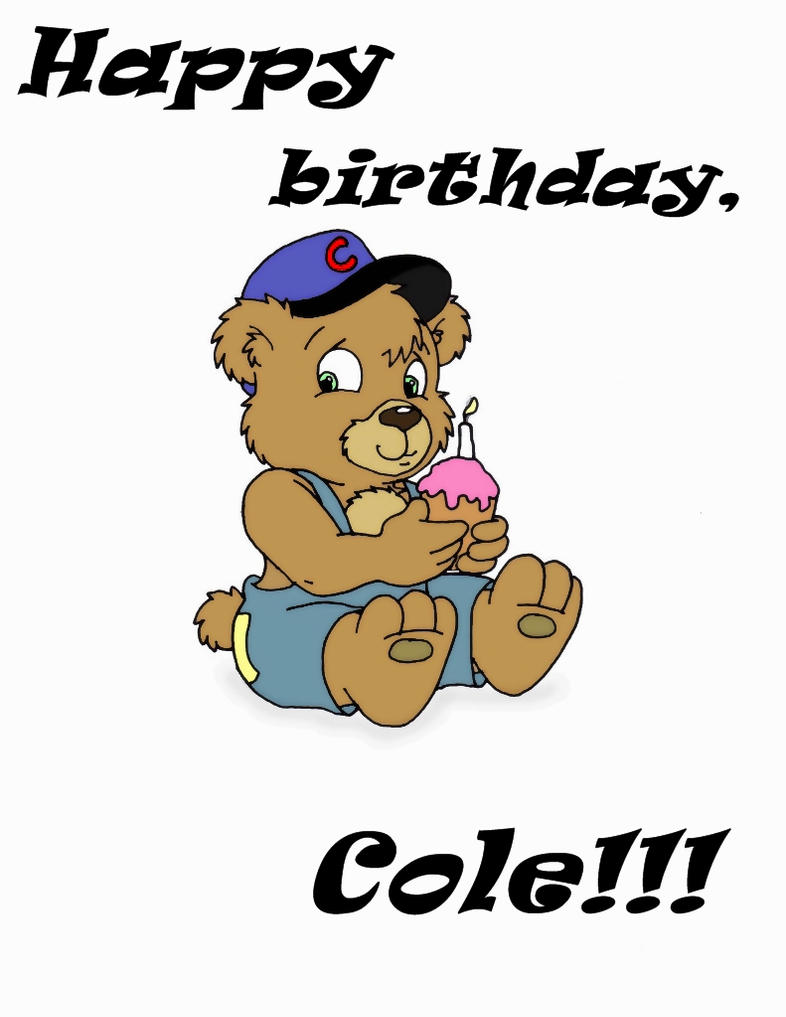 birthday cub wishes by ColeJA